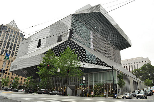 seattle central library photo