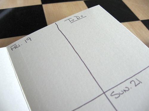 calendar to do